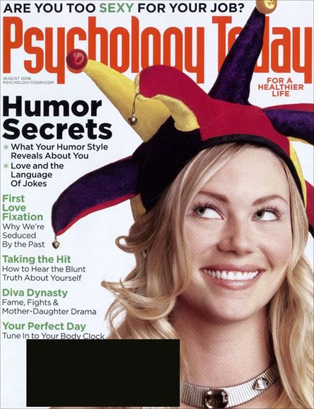 Psychology Today Cover - 8/1/2006