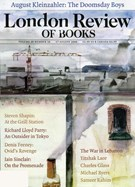 London Review Of Books 8/14/2006