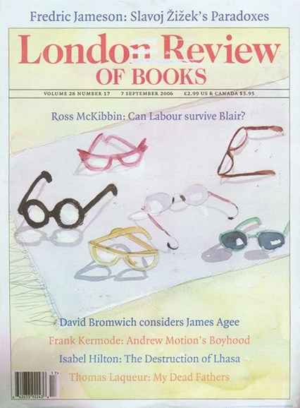 London Review Of Books Cover - 9/3/2006