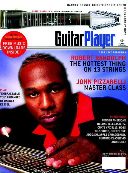Guitar Player Cover - 9/1/2004