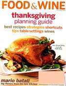 Food & Wine Magazine 11/1/2004