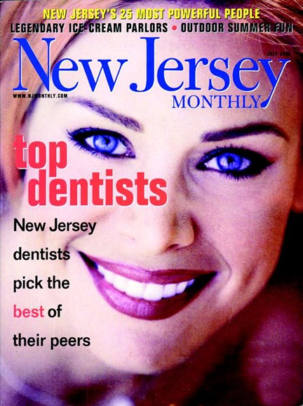 New Jersey Monthly Cover - 7/1/2002
