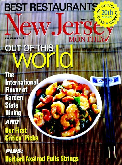 New Jersey Monthly Cover - 8/1/2003