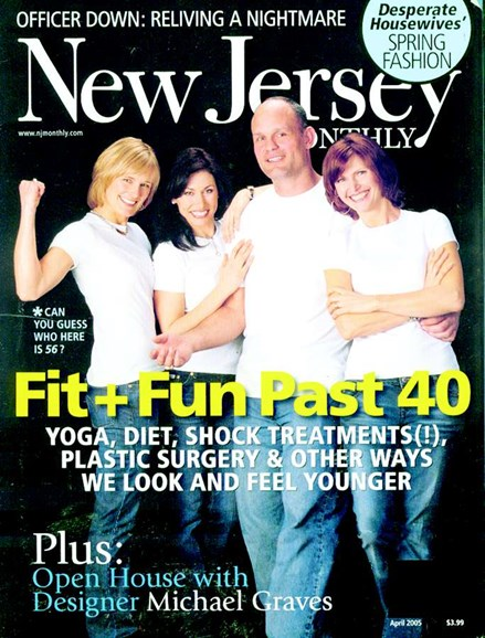 New Jersey Monthly Cover - 4/1/2005