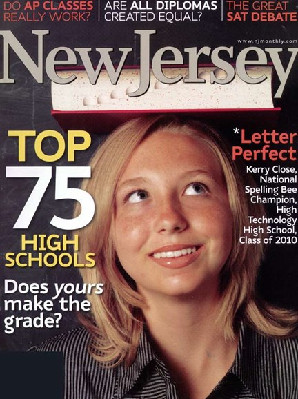 New Jersey Monthly Cover - 9/1/2006
