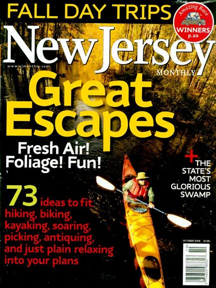 New Jersey Monthly Cover - 10/1/2006