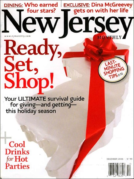 New Jersey Monthly Cover - 12/1/2006