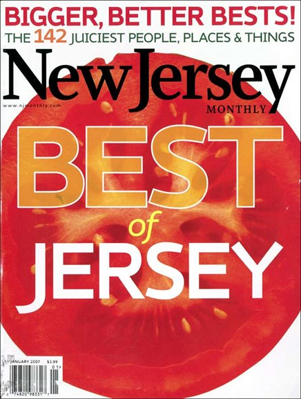 New Jersey Monthly Cover - 1/1/2007