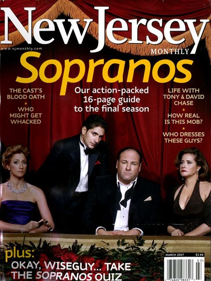 New Jersey Monthly Cover - 3/1/2007