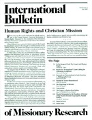 International Bulletin Of Missionary Research 7/1/2002