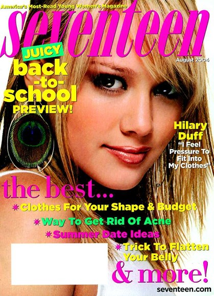 Seventeen Cover - 7/7/2004
