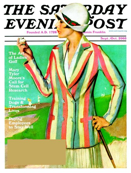 The Saturday Evening Post Cover - 9/21/2005