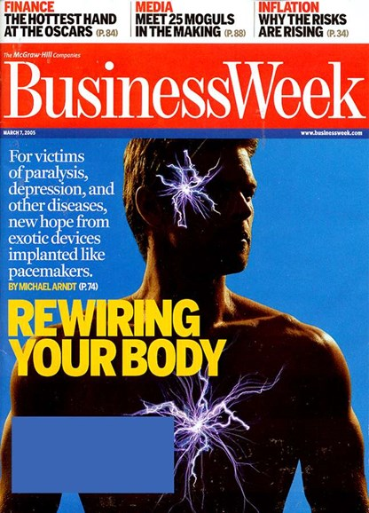 Bloomberg Businessweek Cover - 7/1/2003