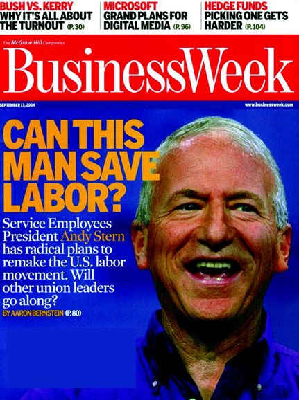 Bloomberg Businessweek Cover - 9/13/2004