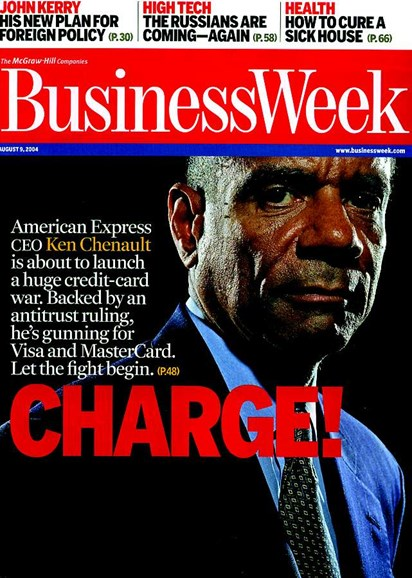 Bloomberg Businessweek Cover - 8/3/2004