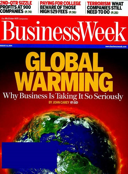 Bloomberg Businessweek Cover - 8/14/2004