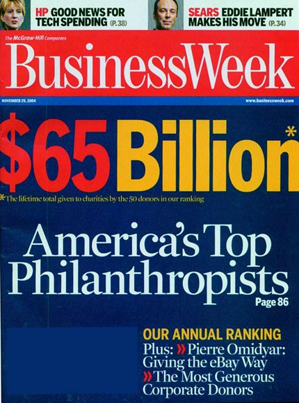 Bloomberg Businessweek Cover - 11/1/2004