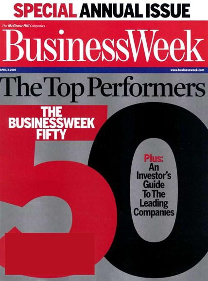 Bloomberg Businessweek Cover - 4/1/2006