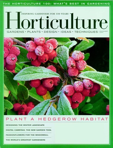 Horticulture Cover - 12/1/2004