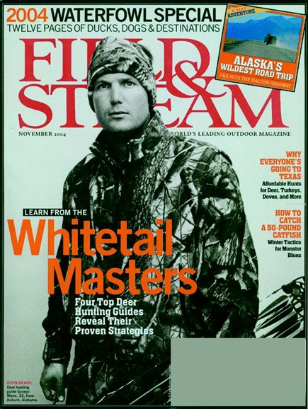 Field & Stream Cover - 11/1/2004
