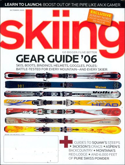 Skiing Cover - 10/1/2005