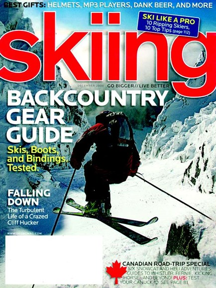 Skiing Cover - 12/1/2005