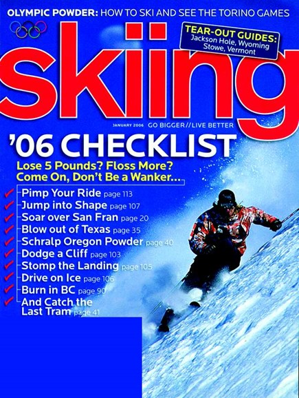 Skiing Cover - 1/1/2006
