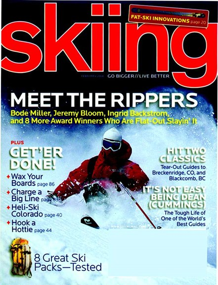 Skiing Cover - 2/1/2006