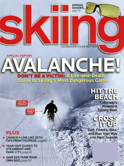 Skiing Cover - 3/1/2006