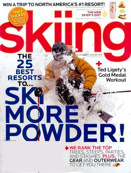 Skiing Cover - 11/1/2006