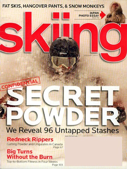 Skiing Cover - 1/1/2007
