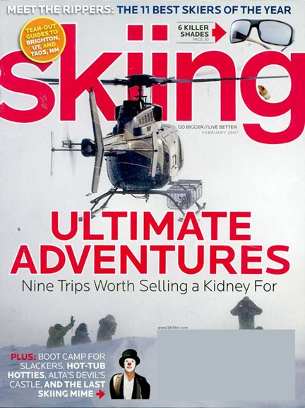 Skiing Cover - 2/1/2007