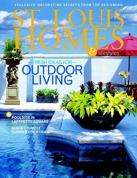 St. Louis Homes & Lifestyles Cover - 6/1/2005