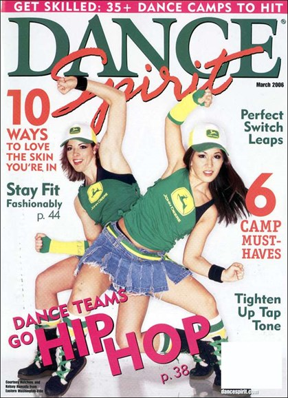 Dance Spirit Cover - 3/1/2006