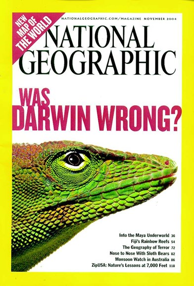 National Geographic Cover - 11/1/2004