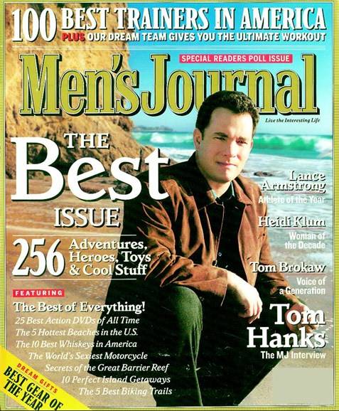 Men's Journal Cover - 12/1/2004