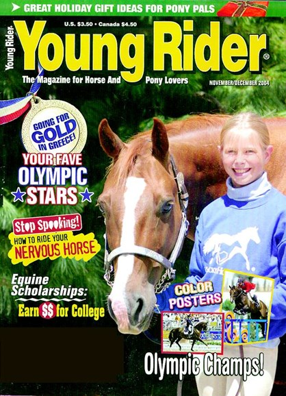Young Rider Cover - 12/1/2004
