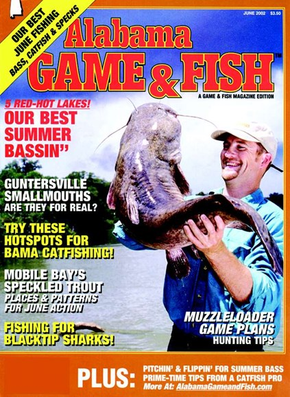 Alabama Game & Fish Cover - 6/1/2002