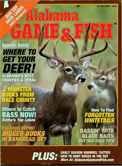 Alabama Game & Fish Cover - 10/1/2004