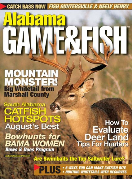 Alabama Game & Fish Cover - 8/1/2005