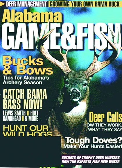 Alabama Game & Fish Cover - 9/1/2005