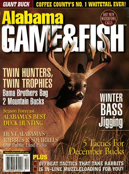 Alabama Game & Fish Cover - 12/1/2006