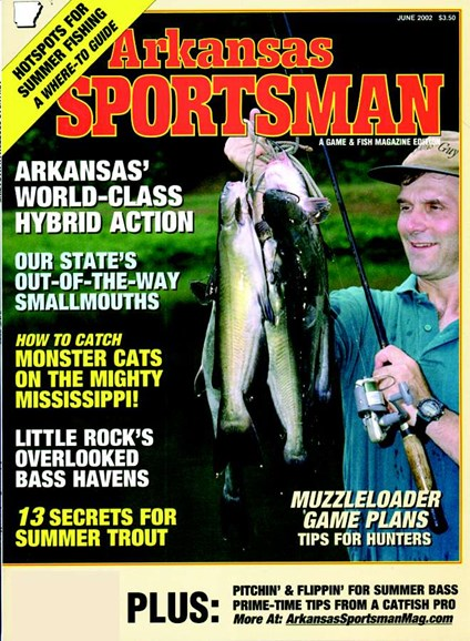Arkansas Sportsman Cover - 6/1/2002