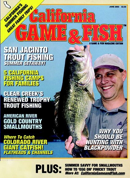 California Game & Fish Cover - 6/1/2002