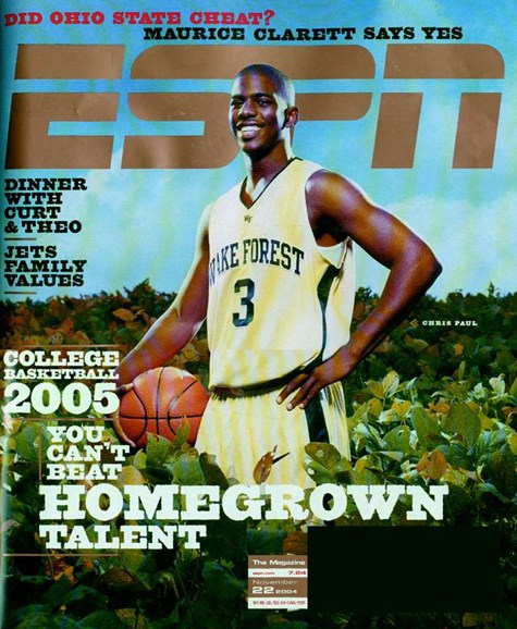 ESPN The Magazine Cover - 11/21/2004