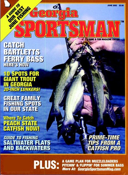 Georgia Sportsman Cover - 6/1/2002