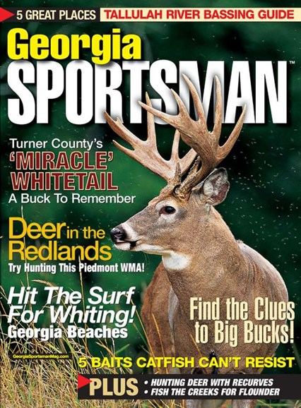 Georgia Sportsman Cover - 8/1/2005