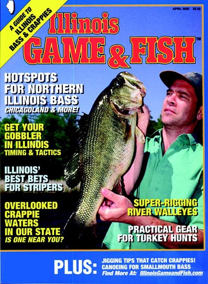 Illinois Game & Fish Cover - 4/1/2002