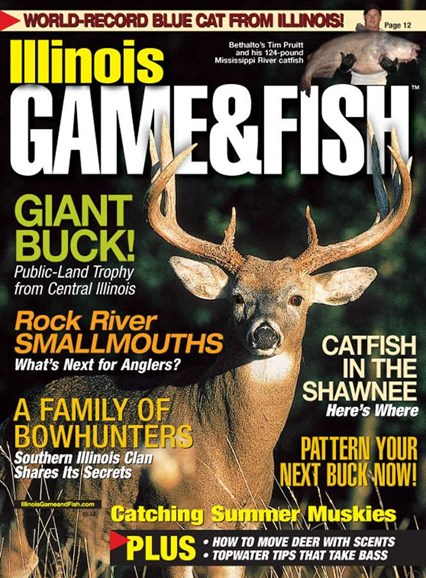 Illinois Game & Fish Cover - 8/1/2005