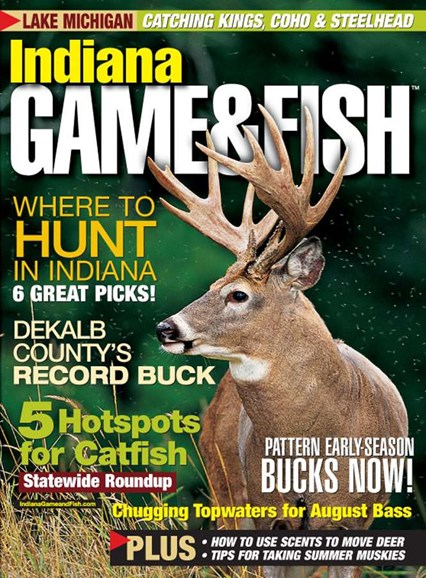 Indiana Game & Fish Cover - 8/1/2005